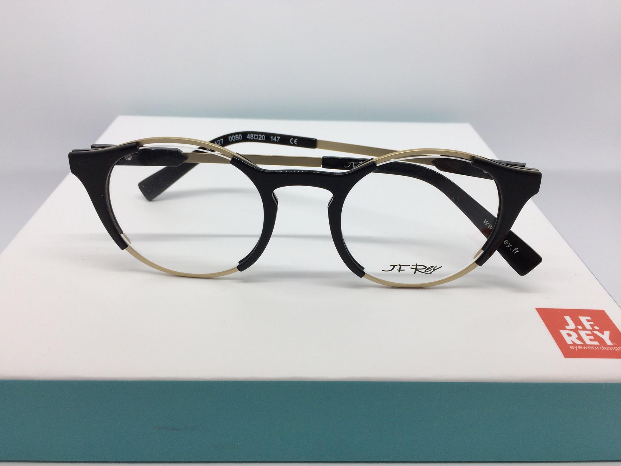 Découvrez les lunettes en cuir de la marque J.F Rey
